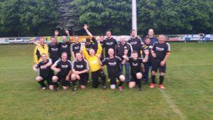 HSC Fussball Herren III Mannschaft Meister der Kreisliga C4