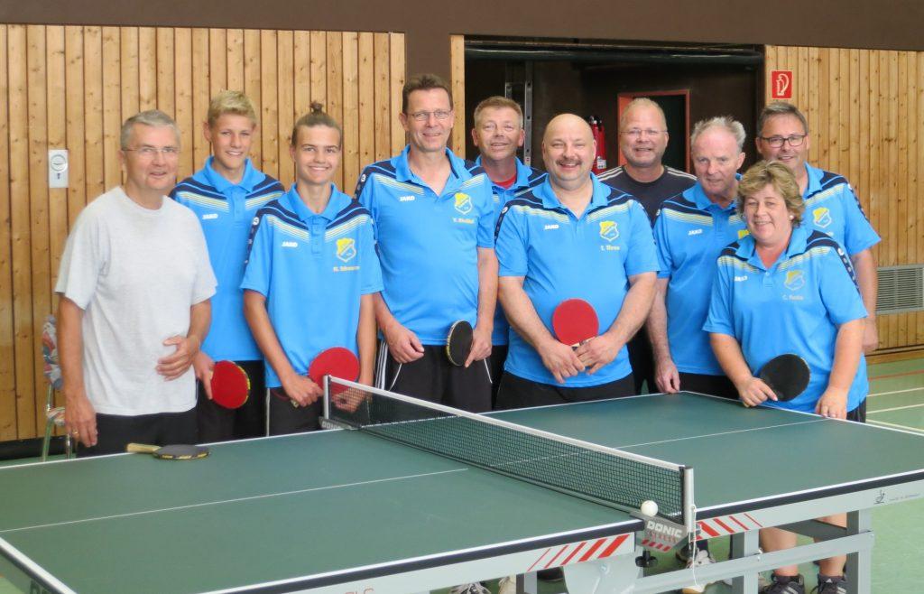 HSC-Tischtennis-Mannschaftsbild