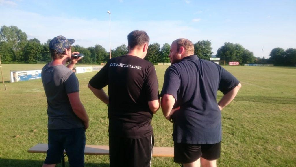 Trainerteam um Steffen, Thomas und Muchu